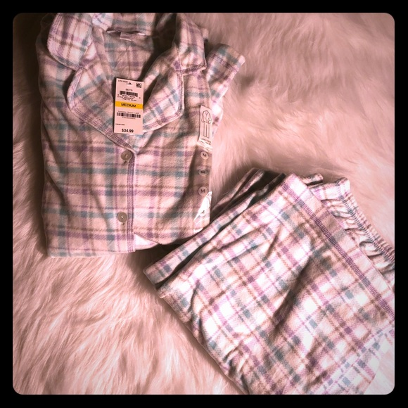 Charter Club Other - Charter club soft long sleeve button up pajama set